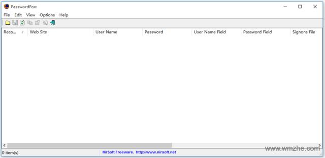 PasswordFox软件截图