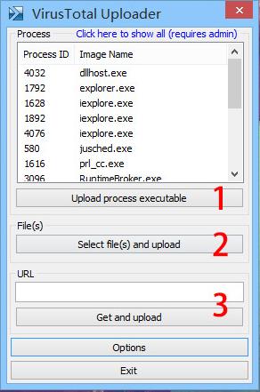 VirusTotal Uploader——免费在线病毒扫描工具