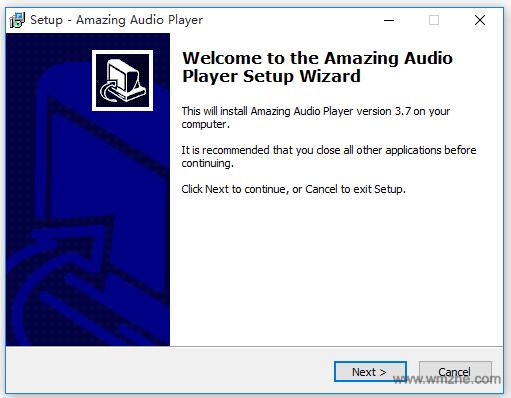 Amazing Audio Player软件截图