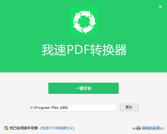 我速PDF转换器软件截图