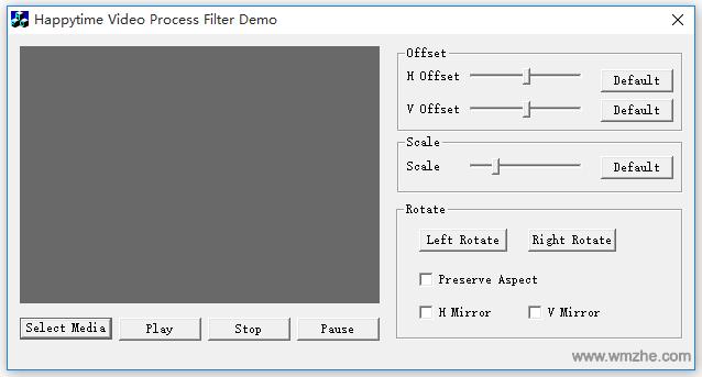视频处理控件Happytime Video Process Filter软件截图