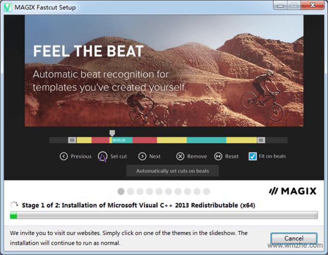MAGIX Fastcut Plus Edition软件截图