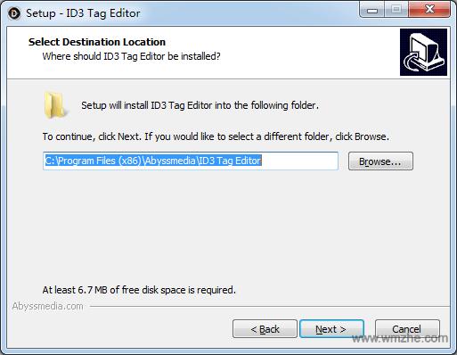 Abyssmedia ID3 Tag Editor软件截图