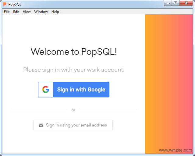 PopSQL软件截图