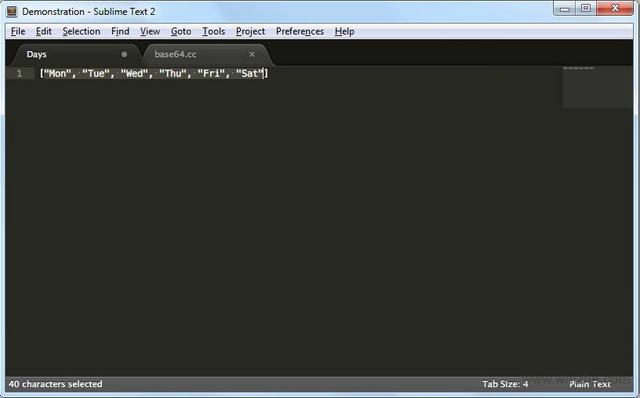 Sublime Text 64位软件截图