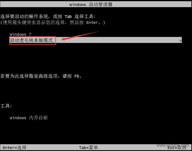 老毛桃winpe软件截图