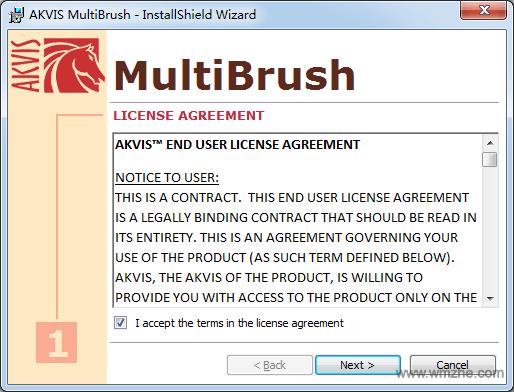 AKVIS MultiBrush软件截图