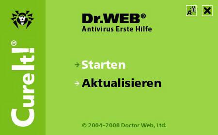 Dr.Web CureIt!——绝佳的辅助型杀毒工具!