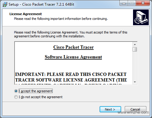 Cisco packet tracer软件截图
