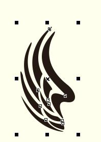 CorelDRAW 改变图形大小的3种方法,第一种最简单