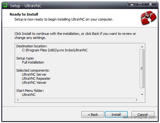 远程控制软件UltraVNC软件截图