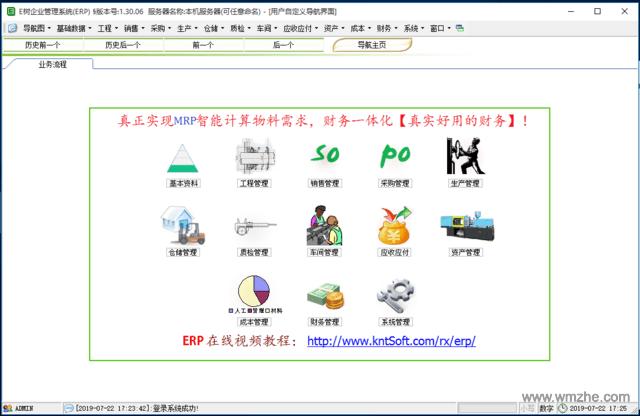 E树企业管理软件(ERP系统)软件截图
