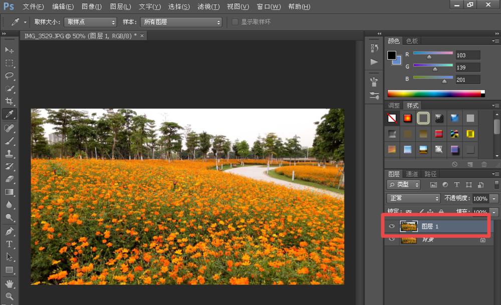 PS修图之处理偏色图片,简单+易学+高效