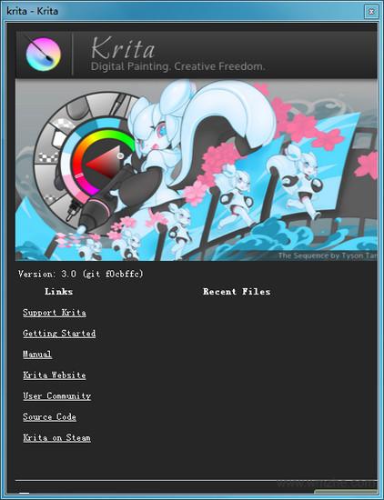 Krita 位图制作软件软件截图