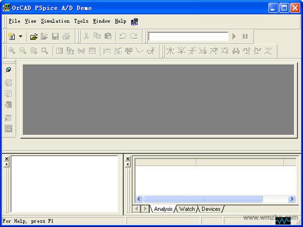 PSpice电子电路仿真软件软件截图