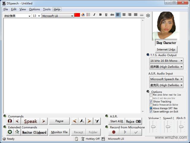 DSpeech软件截图