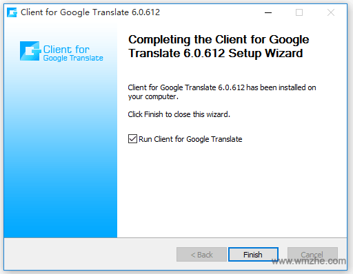 Google Translate软件截图