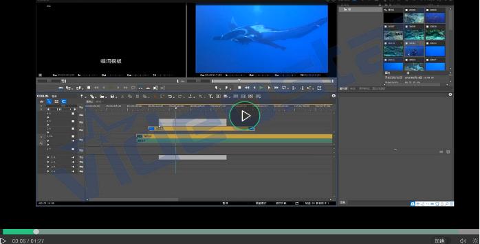 EDIUS快速剪辑视频的技巧:设置入出点及分割素材