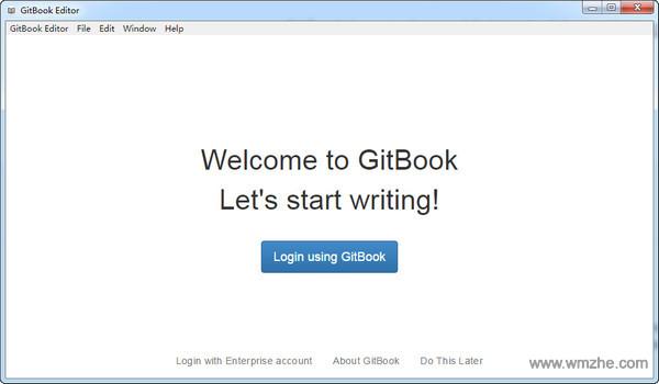 Gitbook editor windows软件截图