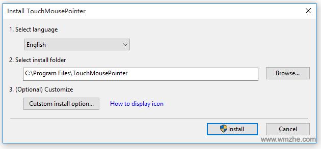 虚拟触控板 TouchMousePointer软件截图