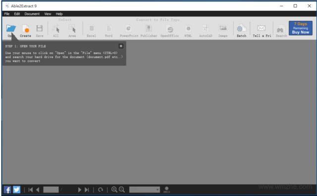Able2Extract PDF Converter软件截图