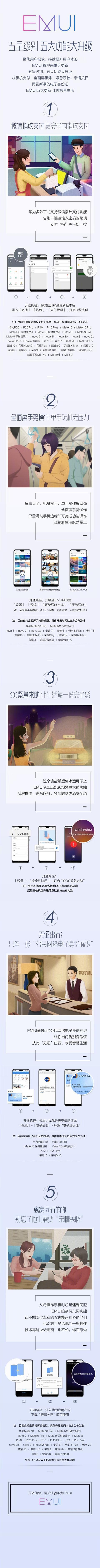 华为EMUI 9.0有五大功能加持,老机型也能用