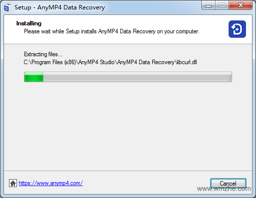 AnyMP4 Data Recovery软件截图