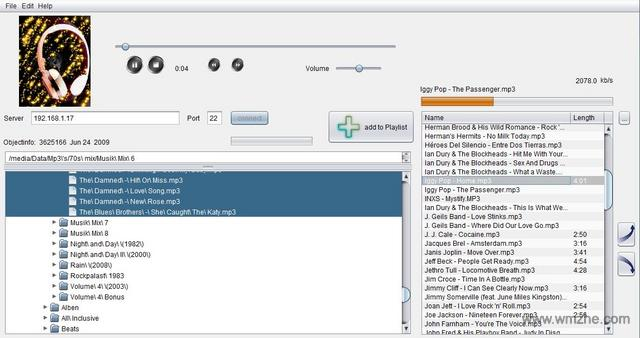 流媒体服务器Stream over SSH软件截图