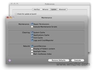 Maintenance For Mac软件截图