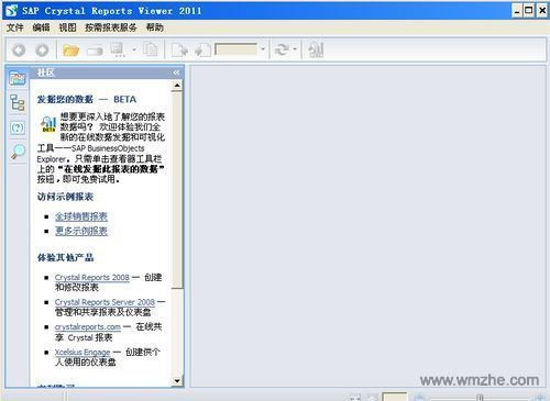 Crystal Reports Viewer软件截图