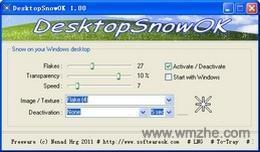 DesktopSnowOK软件截图