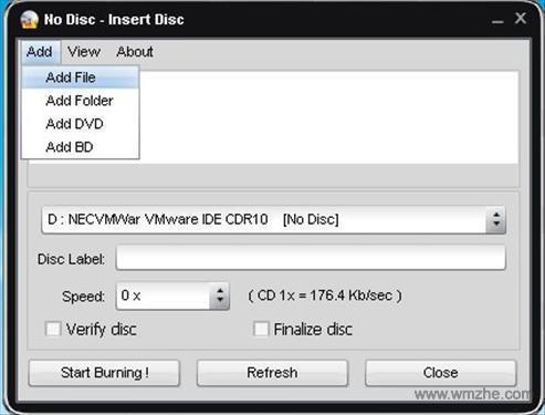 Easy Disc Burner软件截图