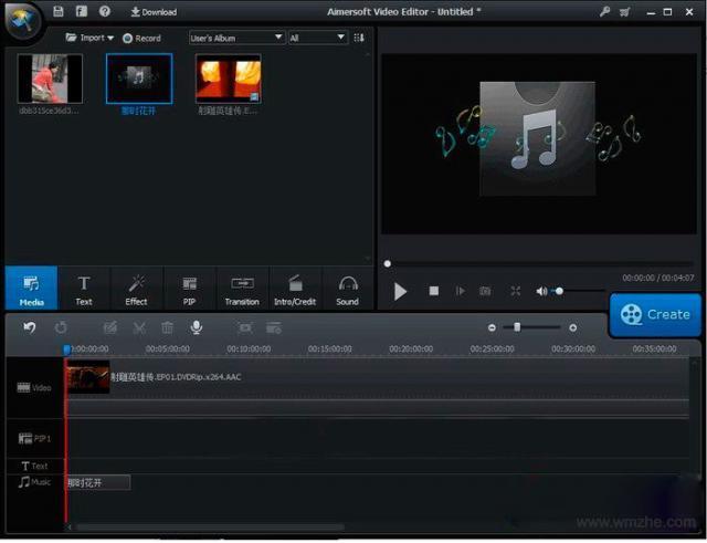视频编辑软件 Aimersoft Video Editor软件截图