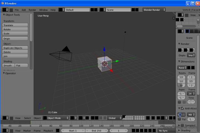 Blender 64位软件截图