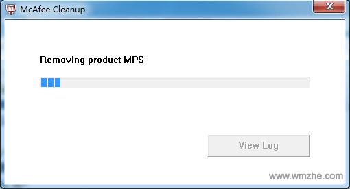 迈克菲卸载Mcfee Cleanup软件截图