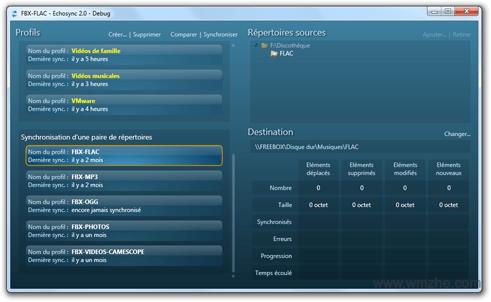 Echosync软件截图