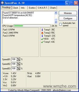 SpeedFan软件截图