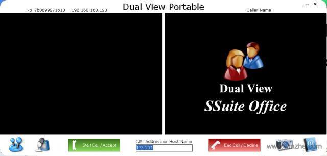 点对点视频聊天Dual View Portable软件截图
