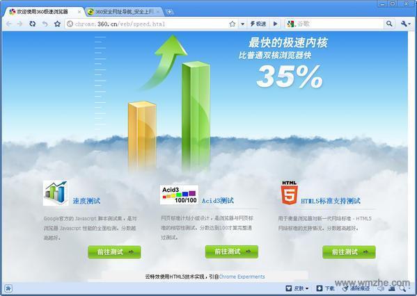 360极速浏览器 软件截图