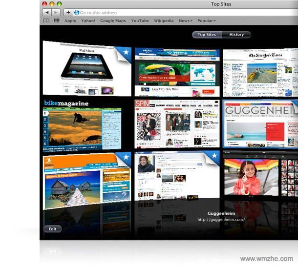 Safari for Windows软件截图