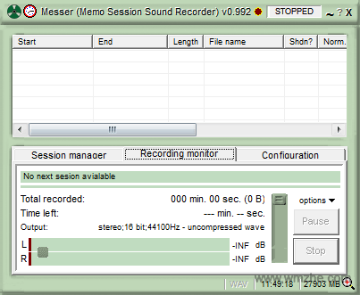 Messer录音软件软件截图