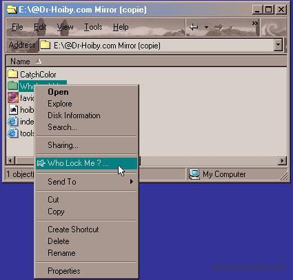 WhoLockMe软件截图