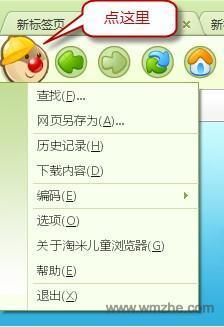 淘米儿童浏览器软件截图