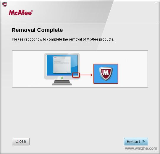 McAfee卸载软件软件截图