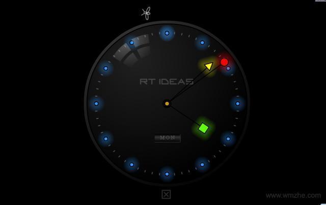 超酷屏保(夜光时钟屏保)软件截图