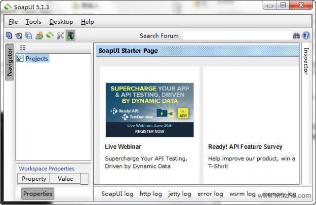 SoapUI软件截图