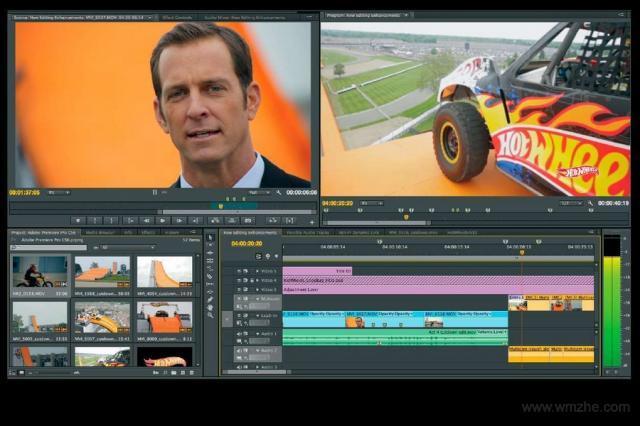 Adobe Premiere Pro CC 64位软件截图