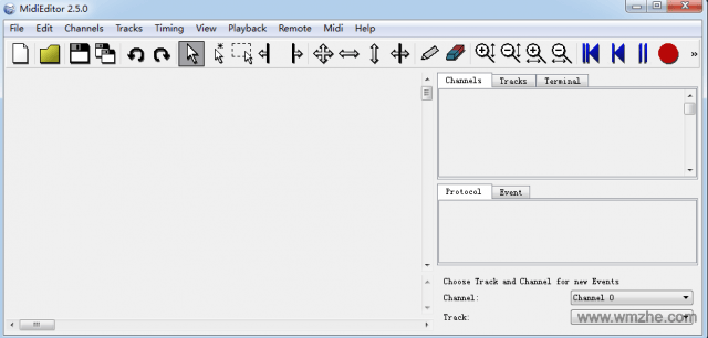 MidiEditor软件截图