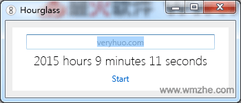 Hourglass倒计时软件截图