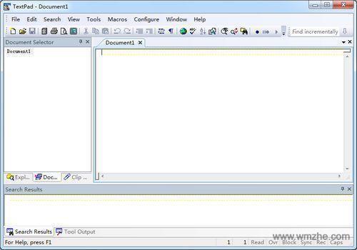 TextPad软件截图